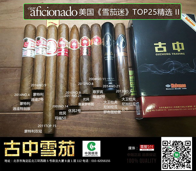 雪茄迷排名礼包2