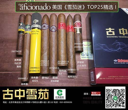 雪茄迷排名礼包1